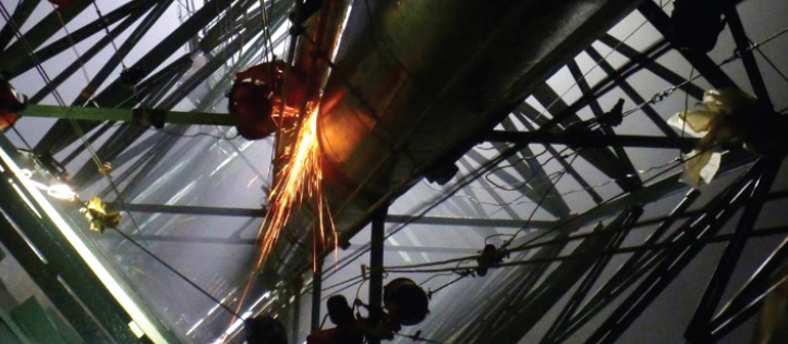 Flare Stack - Extending Operating Life of Critical Legacy Asset - Acuren