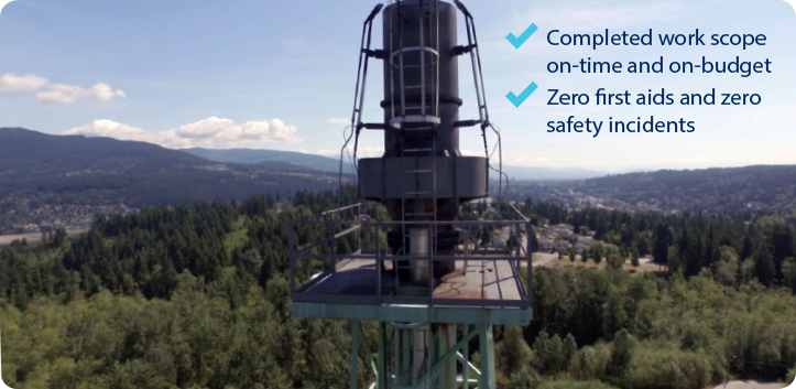 Flare Stack - Extending Operating Life of Critical Legacy