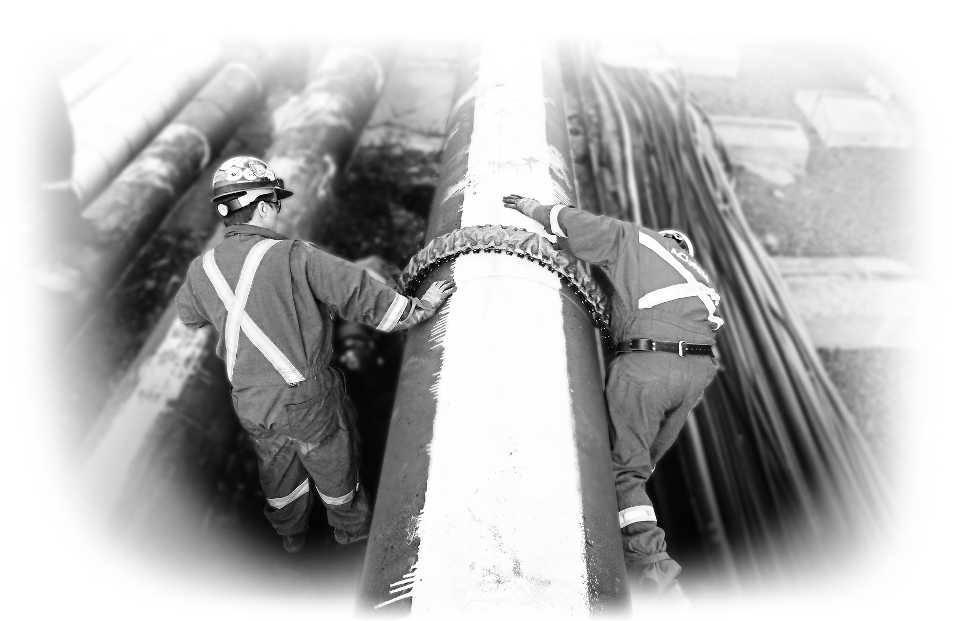 Setting up GUL on large pipe