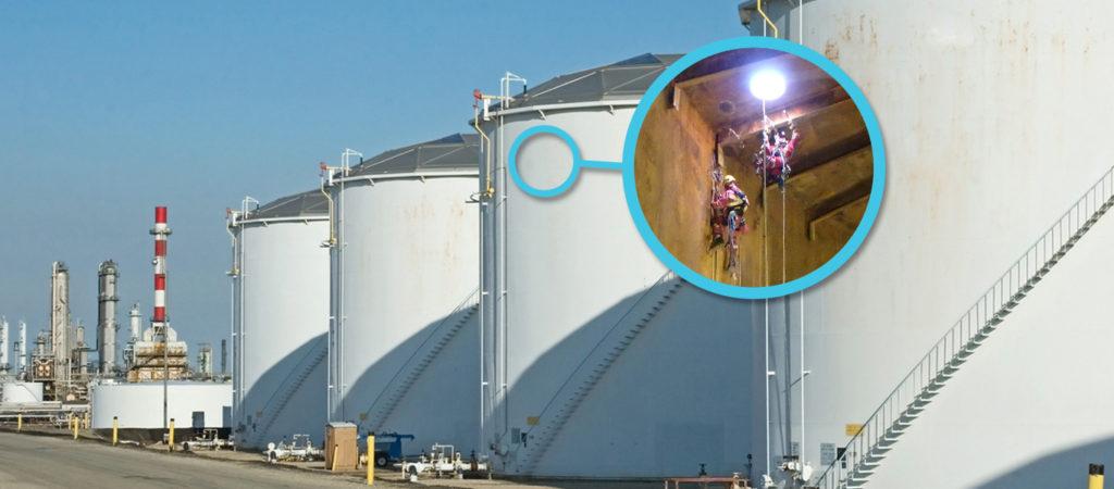 Acuren storage tanks