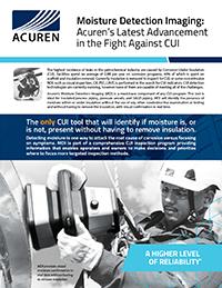 Acuren Moisture Detection Imaging