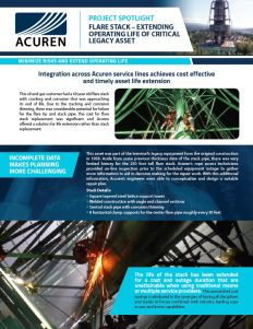 Project Spotlight Acuren Flare Stack Project thumbnail