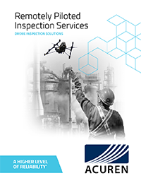 Remotely Piloted Inspection Services brochure