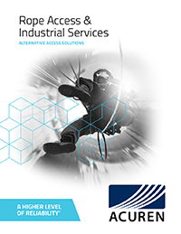 Rope Access and Industrial Services brochure thumbnail