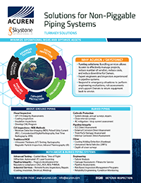 Solutions for Non-Piggable Piping Systems brochure thumbnail