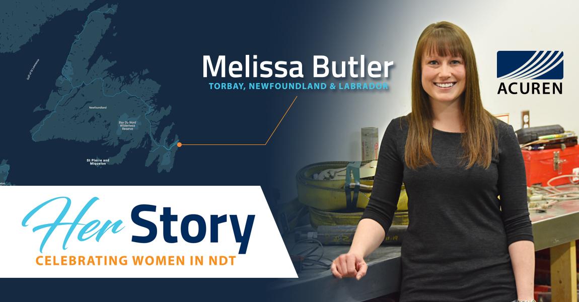 Acuren Her Story Melissa Butler social media banner