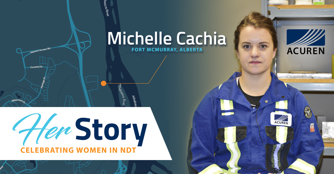 Acuren Her Story Michelle Cachia banner