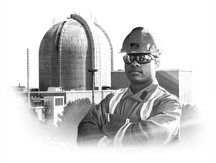 Acuren Power Generation nuclear plant tech