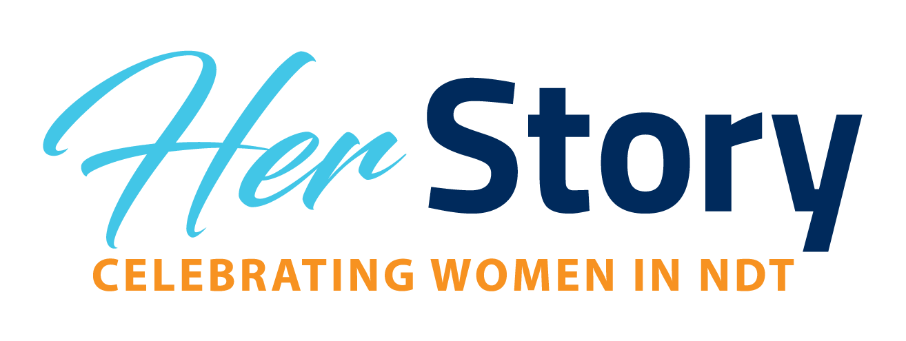 Her Story – Celebrating Women in NDT logo