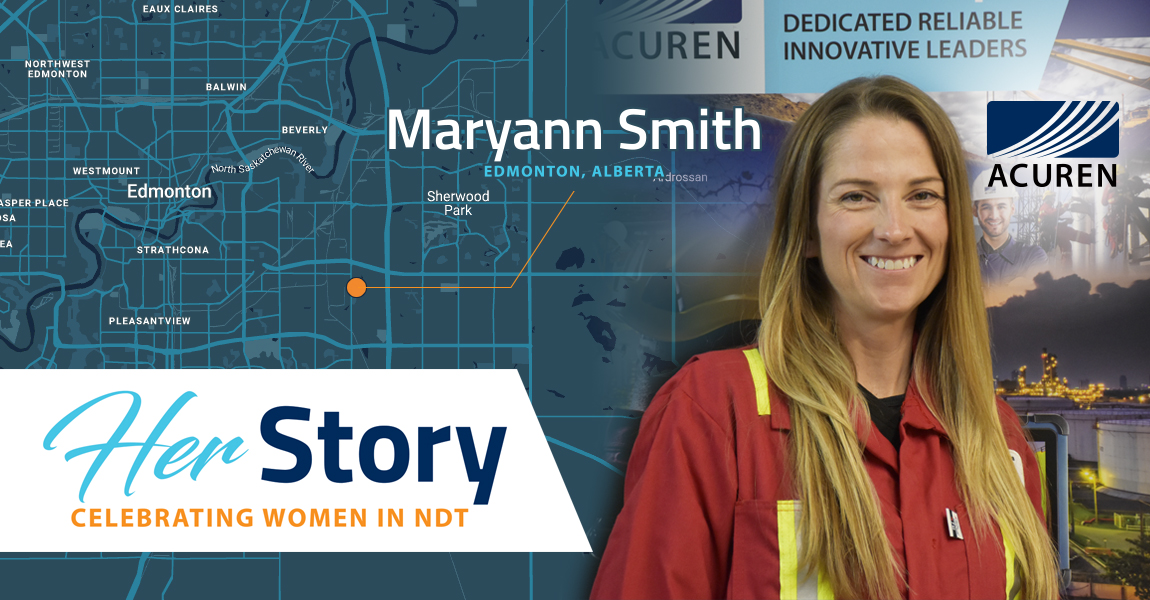 Acuren Her Story Maryann Smith banner