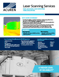 Laser Scanning Services brochure