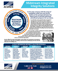 Acuren Midstream Integrated Integrity Solutions brochure thumbnail