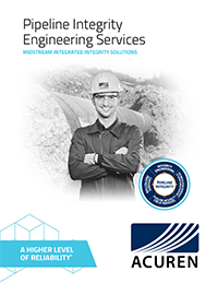 Acuren Pipeline Integrity Engineering Services PLI Midstream Integrated Integrity Solutions brochure thumbnail