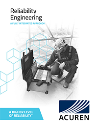 Reliability Engineering brochure cover