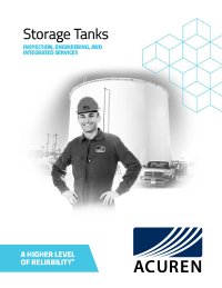 Acuren Storage Tanks - Midstream Integrated Integrity Solutions