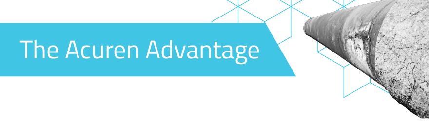 The Acuren Advantage graphic