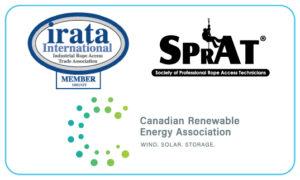 Acuren wind affiliations logos